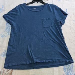 Madewell t shirt Blue XL